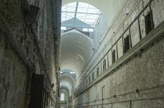 Dirty prison Stock Photos