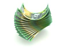 australian currency - stock illustration