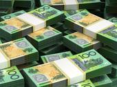 Stock Illustration of stack of australian dollar