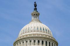 united states capitol building, washington dc - stock photo