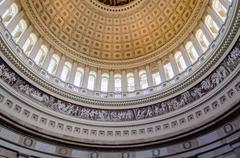 Stock Photo of us capitol rotunda