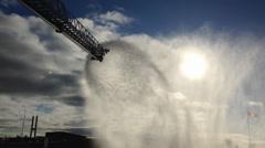 Fire Ladder Truck 911 Stock Footage