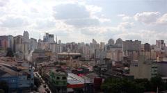 Buildings of Sao Paulo city Stock Footage
