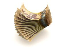 canadian currency - stock illustration