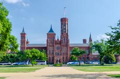 Smithsonian castle, washington dc Stock Photos