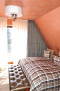 apartment in the luxury ski hotel, tatranska lomnica, slovakia - stock photo