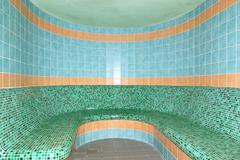 sauna in spa at ski resort, tatranska lomnica, slovakia - stock photo