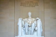 Stock Photo of lincoln memorial, washington dc