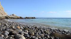 Pacific Ocean Coastline Stock Footage