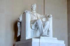 lincoln memorial, washington dc - stock photo