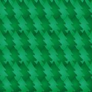 Seamless pattern with fir-tree. Vector Stock Illustration