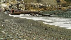 Sea Sestri Levante Stock Footage