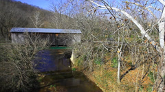 Dover Covered Bridge, Kentucky - stock footage