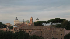 Thousands of starlings over Rome 49 Stock Footage