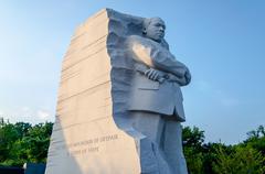Martin luther king jr. memorial, washington dc Stock Photos