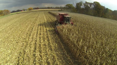 Corn Harvest - stock footage