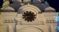 Astrakhan Kremlin Clock Tower Night Timelapse (HD) HD Footage