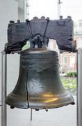 Liberty bell in philadelphia, pennsylvania Stock Photos