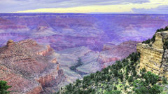 A timelapse at the Grand Canyon, Arizona Stock Footage
