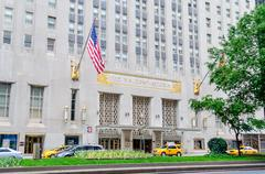 The waldorf-astoria hotel in new york city Stock Photos