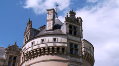 Chateau d'Usse (10) - Rigny Usse, France Stock Footage