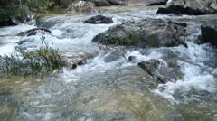 Beautiful Waterfall, Huayluang waterfall Ubonratchathani, Thailand Stock Footage