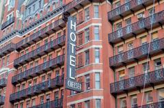Hotel chelsea, new york city Stock Photos