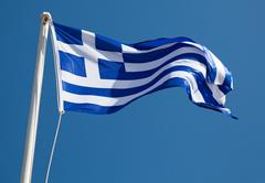 Stock Photo of greek flag