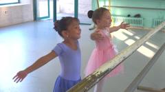 ballet class - stock footage