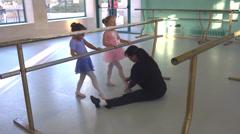 Ballet class Stock Footage