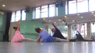Stock Video Footage of ballet class