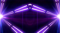 Box-shaped rotating lights 28 Stock Footage