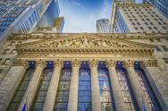 Stock Photo of ny stock exchange, wall street