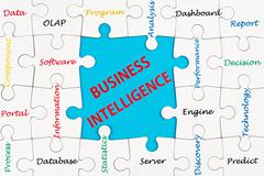 Stock Photo of business intelligence concept