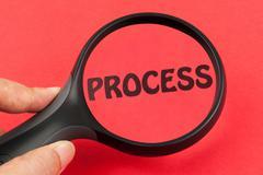 process concept - stock photo