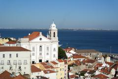 Alfama, lisbon, portugal Stock Photos
