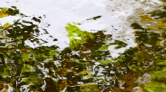 Water reflection HD Stock Footage