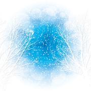 winter - stock illustration