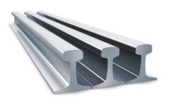 Stock Illustration of Steel rails
