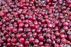 Stock Photo of background cherry