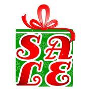 Free Gift Box - stock illustration