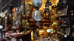 San gregorio street armeno naples italy Stock Footage