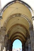 sao francisco church, evora, portugal - stock photo
