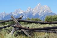 Stock Photo of Grand Tetons National Park