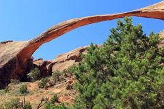 Natural Bridge at Canyonlands National Park Stock Photos