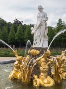 mythological goddess of love venus - stock photo