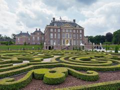royal palace het loo in the netherlands - stock photo