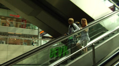 Hauptbahnhof (Central train Station) in Berlin, Germany. Stock Footage