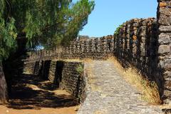 montemor o novo castle, alentejo, portugal - stock photo