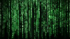 matrix background - stock photo